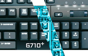 mechanical keyboard G710 plus