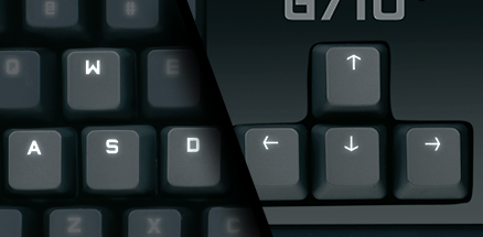 g710 Gaming Keyboard Image Features 3