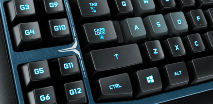 g19s Gaming Keyboard Features Programmable G Keys