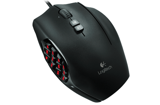 Gaming Mouse With Numpad