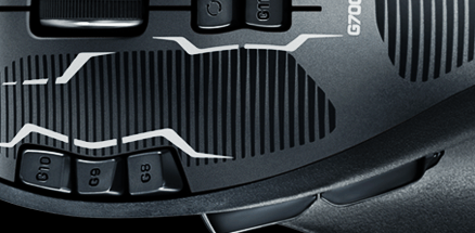 g700s Gaming Mouse Image Features 13 Programmable Controls