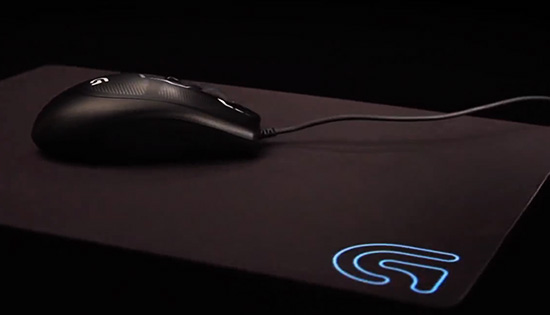how to clean mousepad logitech