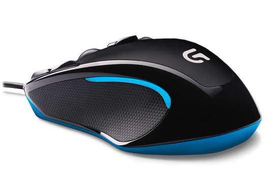 souris g300 optical gaming mouse logitech. Black Bedroom Furniture Sets. Home Design Ideas