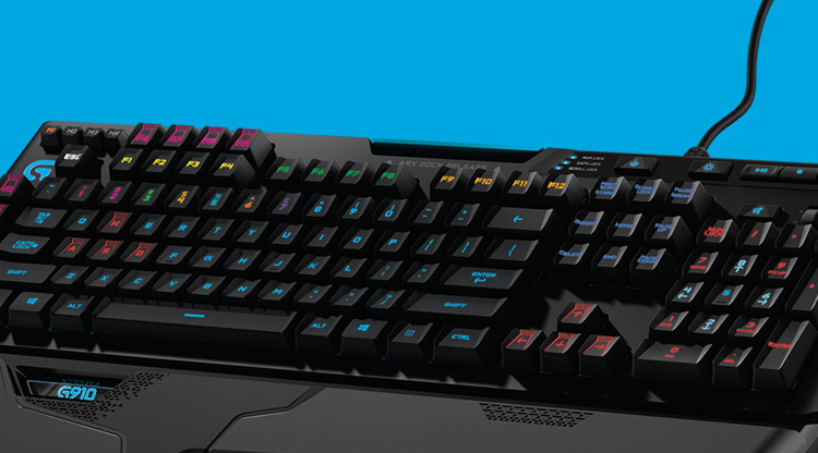 Gaming Keyboard category header for mobile