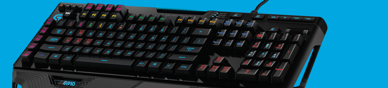 Gaming Keyboard category header