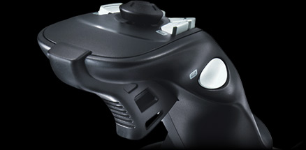 Close up of the Extreme 3D Pros rapid fire trigger
