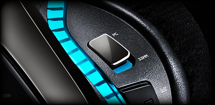Close up of G633 programmable buttons