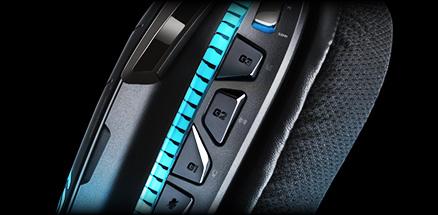 Closeup of the G633 programmable G keys