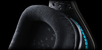 Detail of G633 ear pad