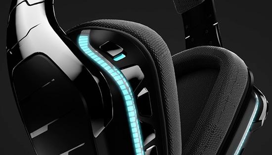 logitech g933 artemis spectrum kabelloses gaming headset mit 7 1 surround sound. Black Bedroom Furniture Sets. Home Design Ideas