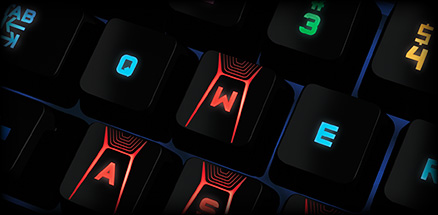 G410 feature - Find the right keys in the dark