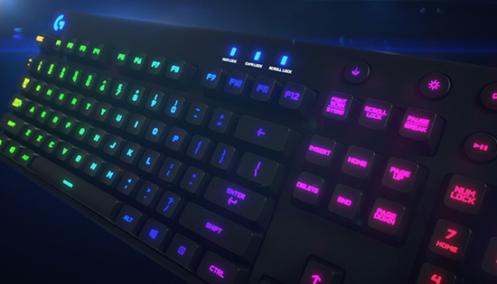 G810 Orion Spectrum RGB Mechanical Keyboard video