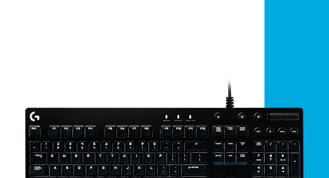 G610 Orion Backlit Mechanical Gaming Keyboards