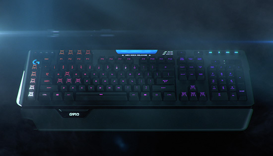 Video G910 Orion Spectrum RGB Mechanical Gaming Keyboard