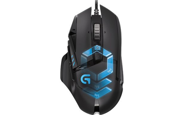 logitech g502 proteus spectrum tunable rgb gaming maus. Black Bedroom Furniture Sets. Home Design Ideas