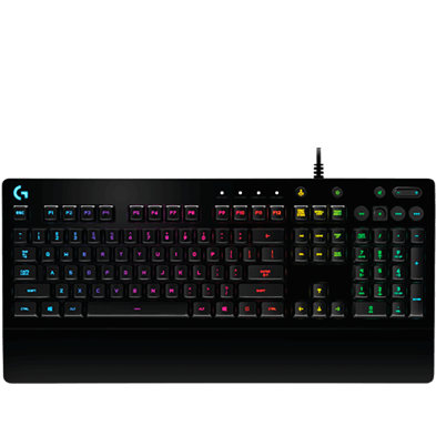 logitech g213 prodigy gaming keyboard with rgb lighting