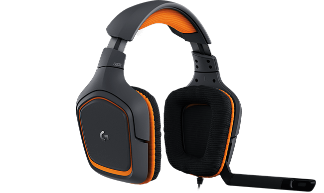 logitech g gaming audio headsets and pc speakers g231 prodigy gaming headset