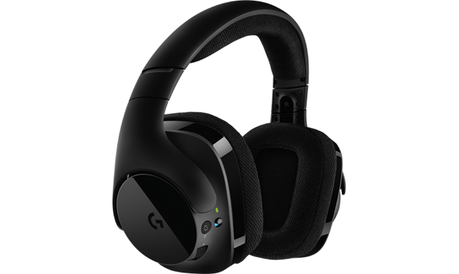 logitech g gaming audio headsets and pc speakers g533 wireless dts 7 1 surround gaming headset