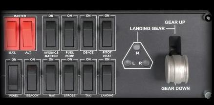 Logitech G Flight Simulator Aircraft Switch Panel
